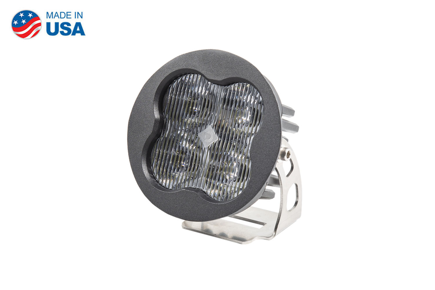 Diode Dynamics Worklight SS3 Sport White SAE Fog Round (single)