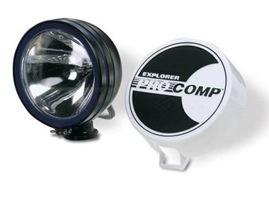 "100 Watt 6"" Light by Pro Comp - BLACK"