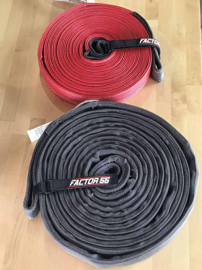 Factor 55 Extreme Duty Tow Strap 30' x 2""