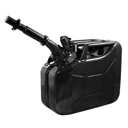 Wavian Black 10 Liter Steel Can - 1 Can