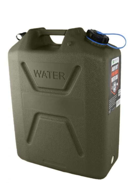 Wavian Heavy Duty Plastic 5 Gallon Water Can OD (1 can)