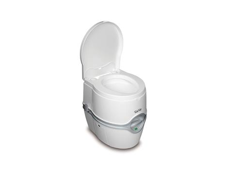 Thetford Porta Potti Toilet; 4.0 Gallon Fresh Water Tank; Elongated Seat