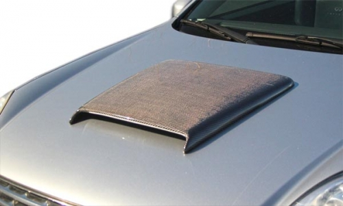 Extreme Dimenisions Carbon Creations Universal Ram Air - Hood Scoop - Ships Free