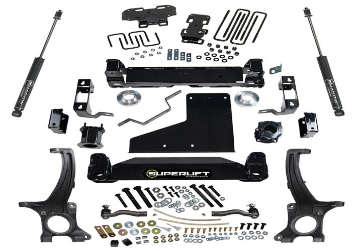 Superlift 6in Tundra Lift Kit w/ Shadow Shocks - 2009-2019 - Ships Free