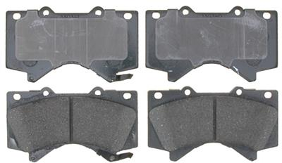 Raybestos Service Grade OE Replacement Ceramic Front Pads (Set of 2) - 2007+ Ships Free