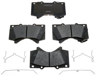 Raybestos R-Line Ceramic Front Brake Pads (Set of 2) - 2007+ Ships Free