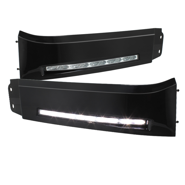 Spyder Auto Tundra Daytime LED Running Lights (XSP-X Model Look) w/o switch - Black - 07-13