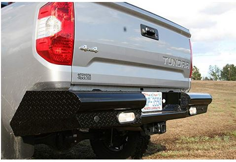 Fab Fours Black Steel Bumper 2014+ Tundra