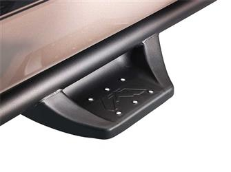 Fab Fours Black Sliders/Nerf Bars for Dbl Cab Tundras 2007+