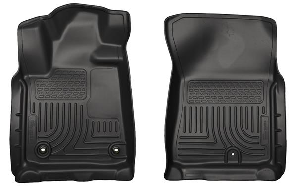 Husky Front Weather Beater Molded Fit Smooth Arching Mats (2 Pc)- 2012+ -
