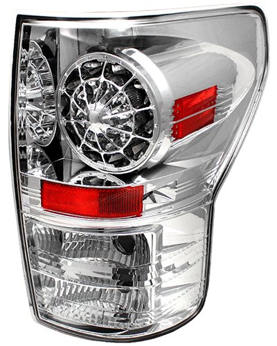 IPCW Tundra Crystal Clear LED Tail Lights 2007-2013