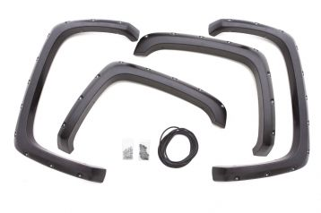 Lund RX-Rivet Style Fender Flare, Black - 2014+ (Set of 4)