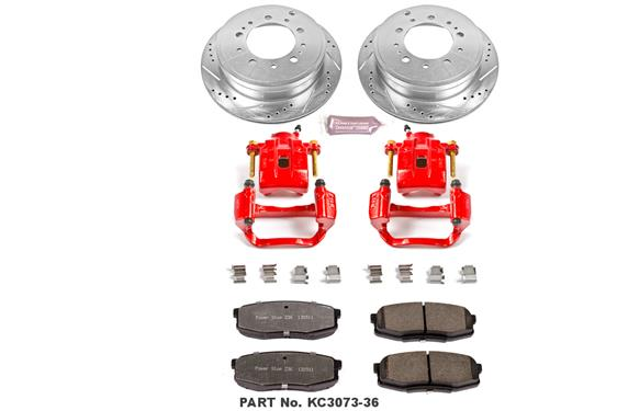Power Stop Z36 Truck and Tow Performance Brake Kits 2007+