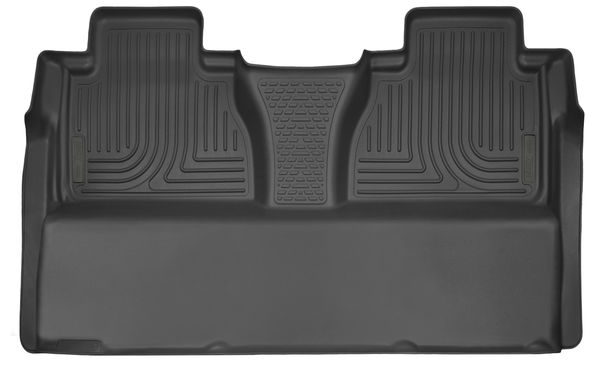 Husky X-Act Contour Black Molded Rear Mats for Vinyl Floors - 2014+