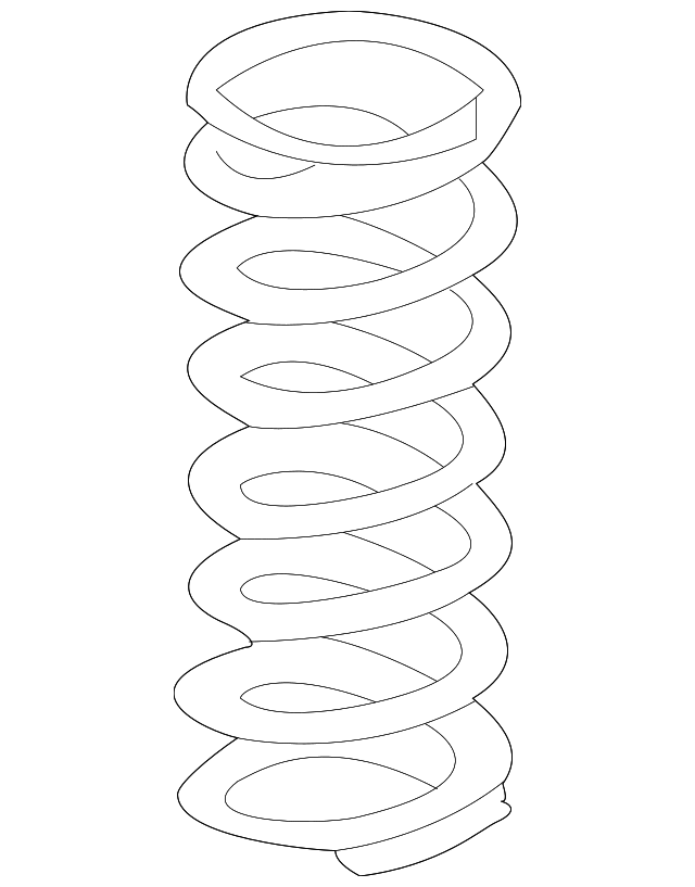 Toyota Tundra Coil Spring 2004-2006