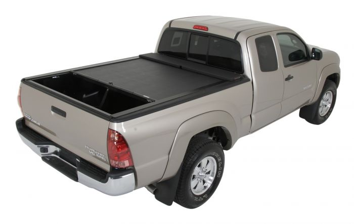 Roll-n-Lock Locking Retractable M-Series Truck Bed Tonneau Cover for Toyota Tacoma Double Cab 2005+