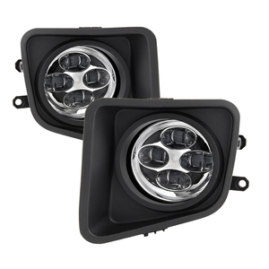 Spyder Auto Tundra Daytime DRL Led Running Fog Lights w/switch - 2014-2016