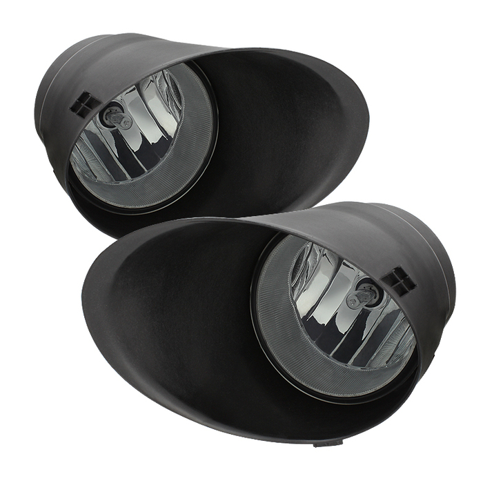 Spyder Auto Tundra Double Cab/Crew Max OEM Fog Lights (Chrome Bumper Only) w/Switch - Smoke - 2007-2013