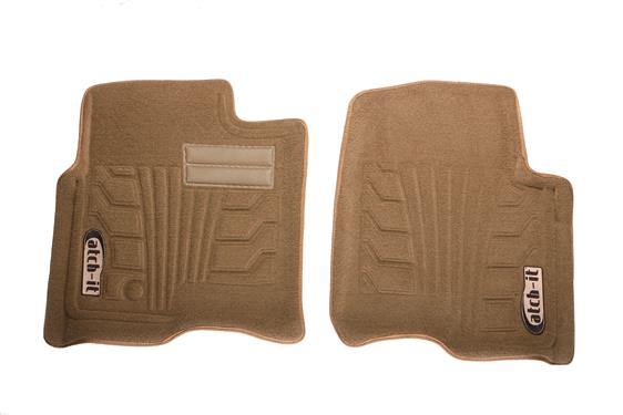 Lund Tan Nylon Front Floor Liners (Special Order) - 2007+
