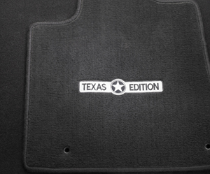 TUNDRA CARPET MATS Texas Edition Black 2012+