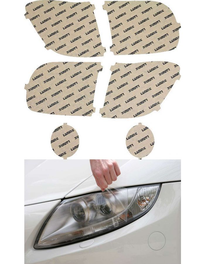Lamin-X Clear Headlight Covers; (03-06) Toyota Tundra