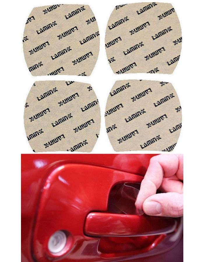 Lamin-X Door Handle Cup Paint Protection; (07-09) Toyota Tundra