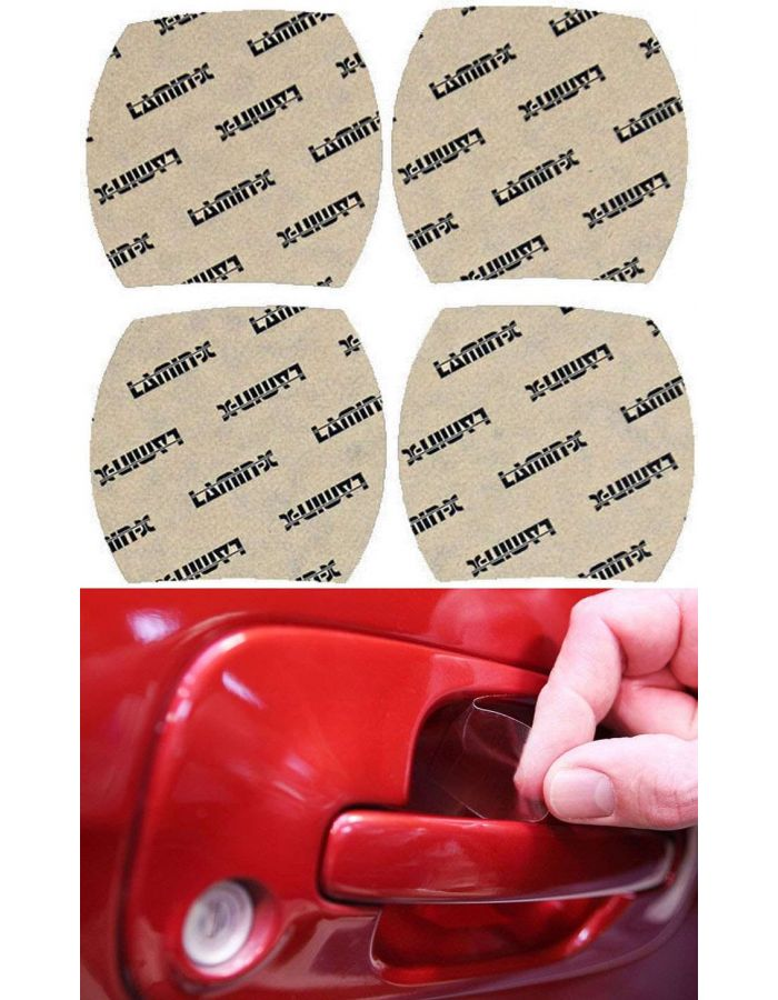 Lamin-X Door Handle Cup Paint Protection; (10-13) Toyota Tundra