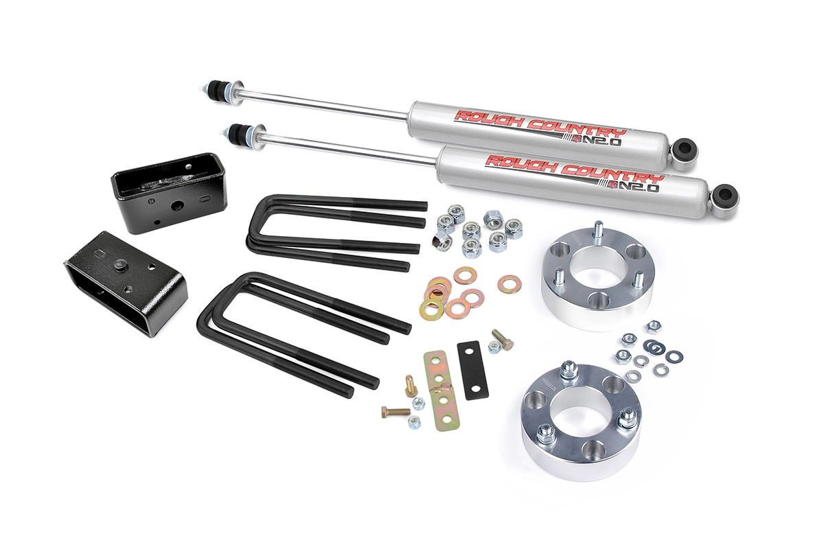 "99-06 4wd Toyota Tundra 2.5"" Suspension"