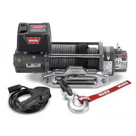Warn M8000-s Winch with Synthetic Rope
