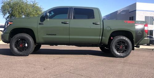 Westcott Designs Fox Trd Pro Lift Kit 1 5 In Front 1 In Rear 2018 2021 Wsctt Fox Trd Lift 350 00 Pure Tundra Parts And Accessories For Your Toyota Tundra